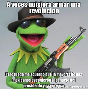 meme revolucion mexicana presidente
