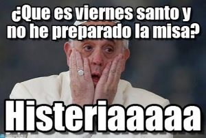 meme viernes santo misa