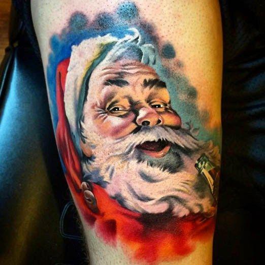 tatuaje-santa-claus