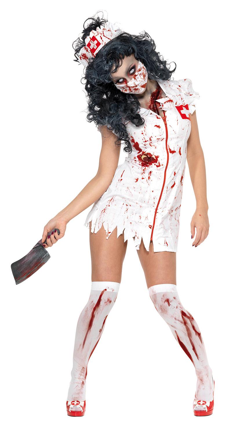 disfraz zombie enfermera